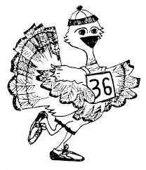 B&W Turkey Trot logo